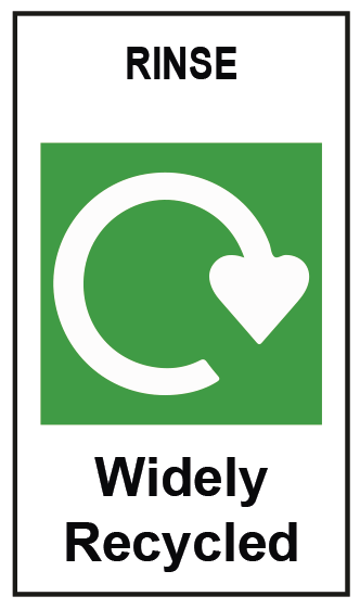 Recycling Label For Stand Up Pouch